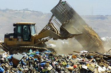 02 87 per cent of rubbish in Cyprus is dumped in landfills
