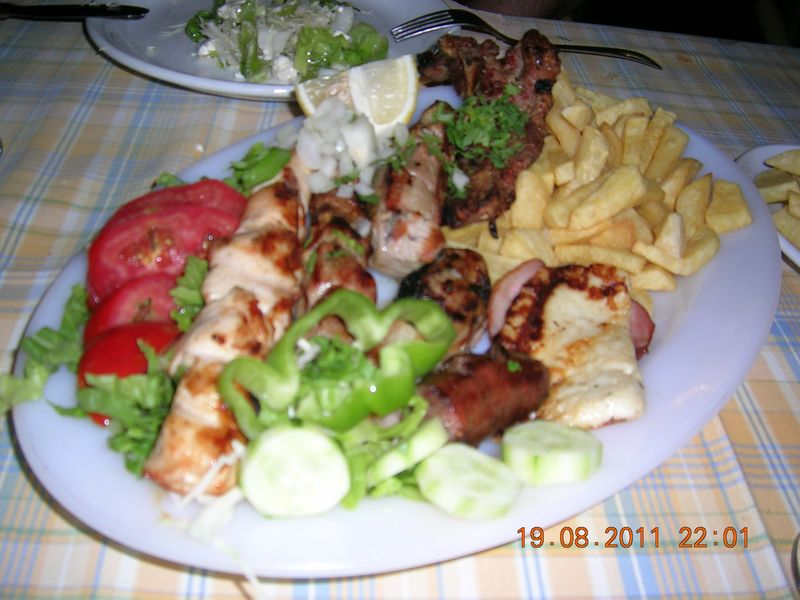 Mixed-grill-platres
