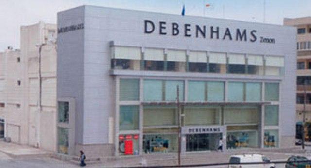 Debenhams-zenon-larnaca