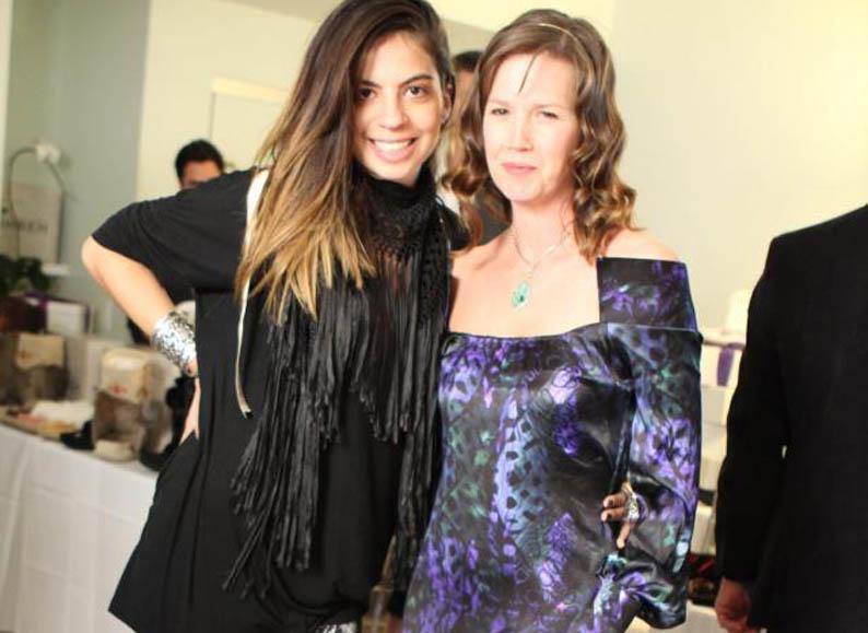 Stefanie with Adria Tennor