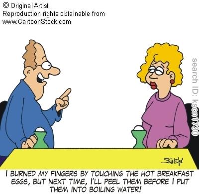 Burned-eggs