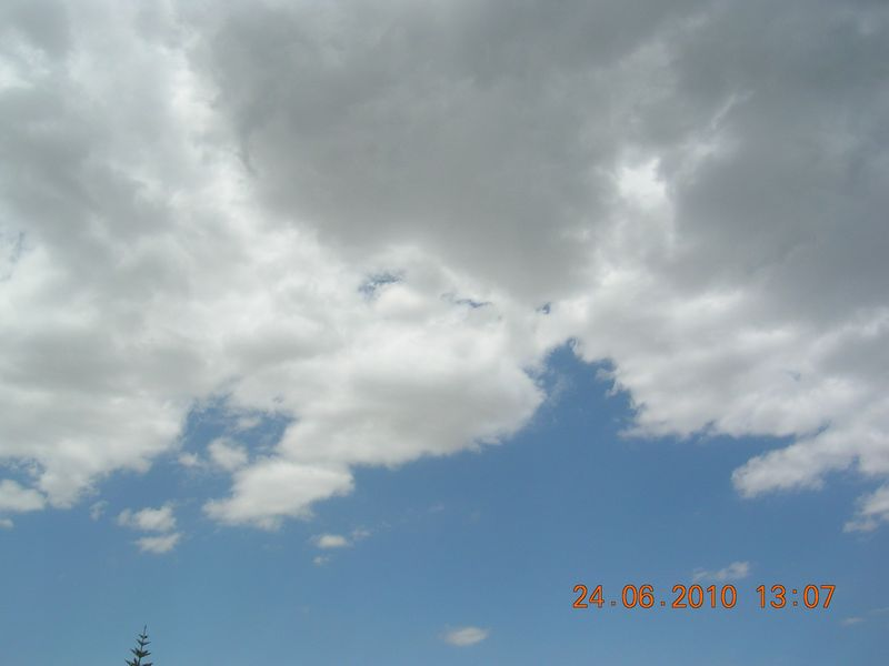 Clouds in larnaca