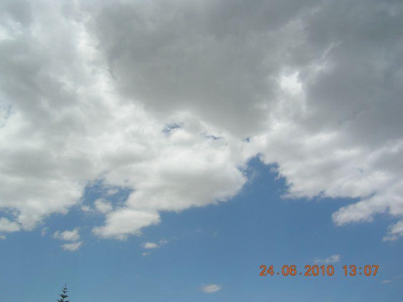 Clouds in larnaca