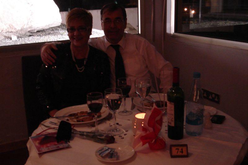 valentine's dinner 2013