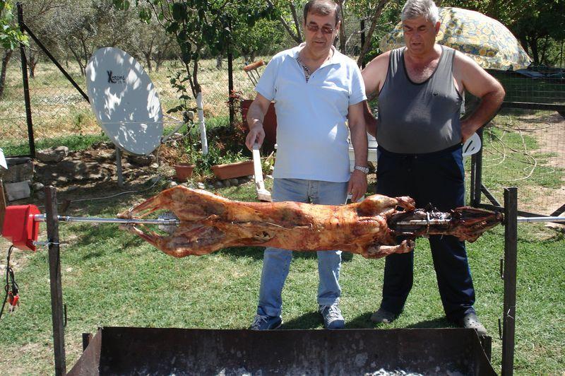serres, greece, greek easter, easter lamb