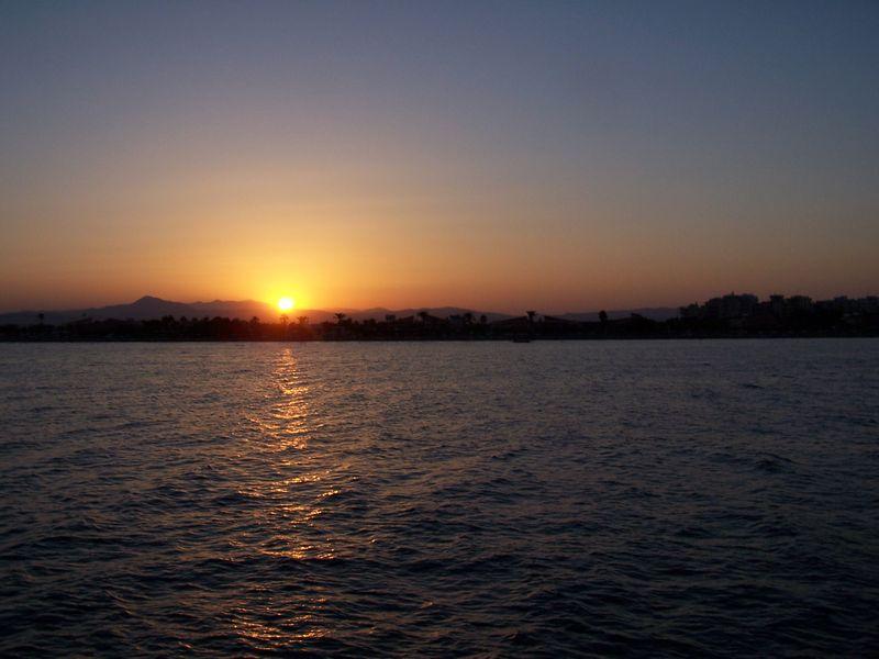Larnaca-sunset