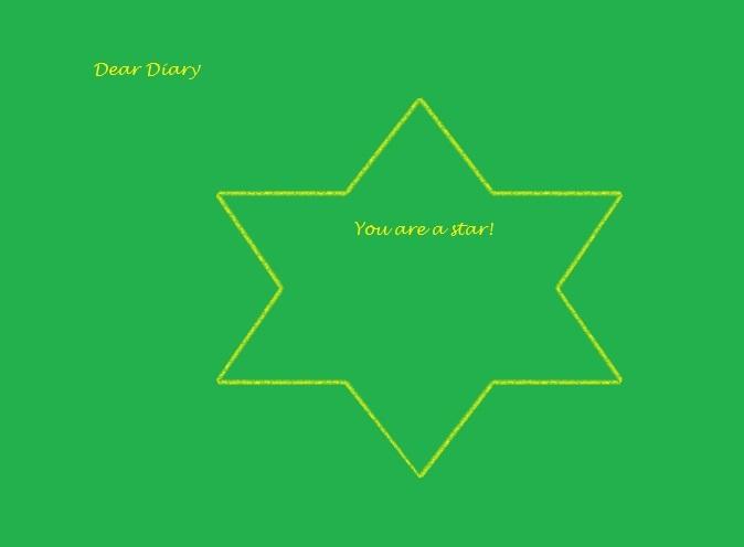 Dear Diary - Star