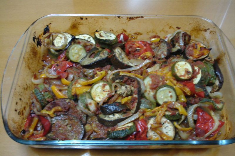 Briam-Baked Vegetables