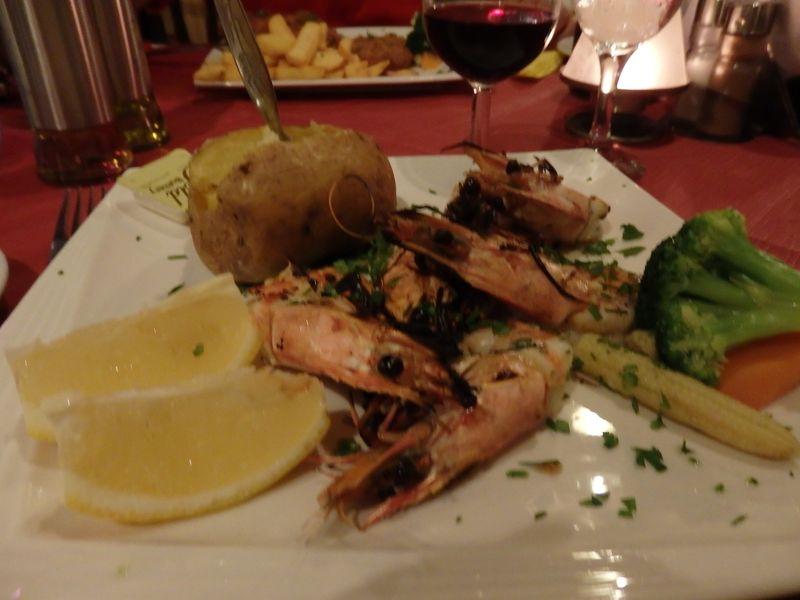 Grilled Prawns-Othello Restaurant