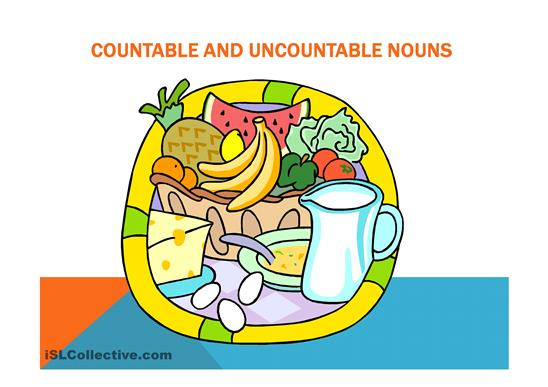 Countable and Uncountable Nouns - 01