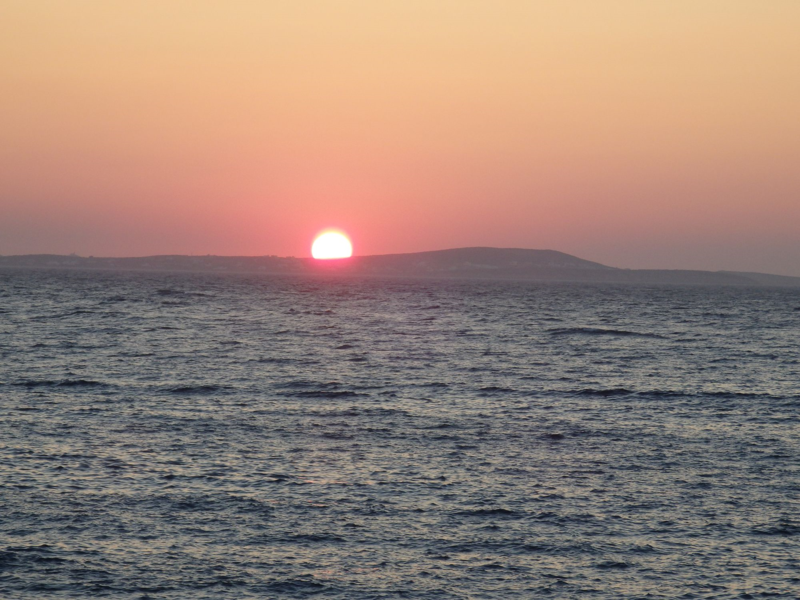 #sunset naxos greece