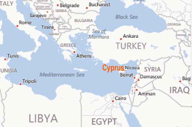 Cyprus-location-map