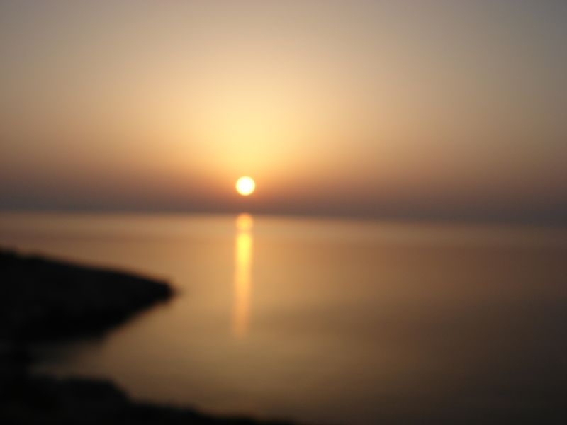 Sunset-larnaca