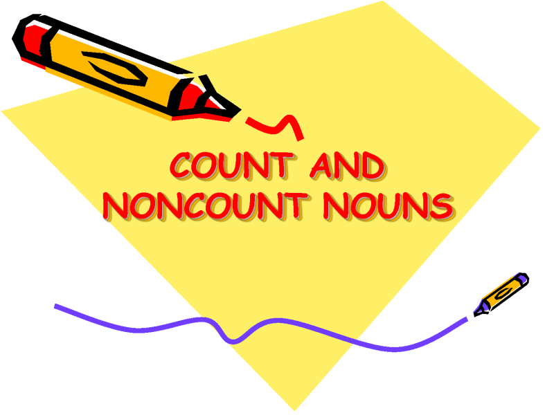 Count and non count